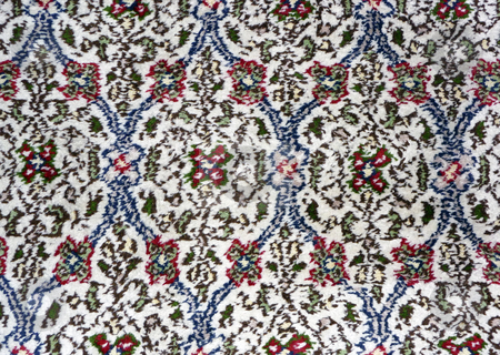 Persian carpet stock photo, A close-up image of handmade Persian carpet by Mile Atanasov