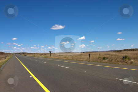 Road to heaven. stock photo, The road on a sunny summer day. by Elena Weber (nee Talberg)