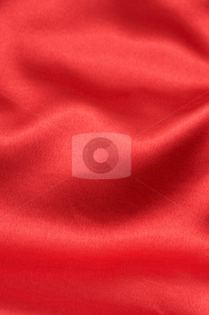Valentines red background stock photo, Red silk background - can be used for Valentines themes by Elena Weber (nee Talberg)