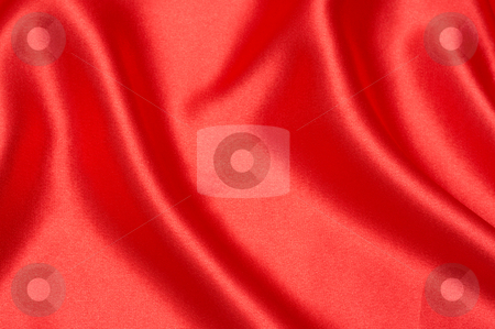 Red silk background for Valentines stock photo, Red silk background - can be used for Valentines themes by Elena Weber (nee Talberg)