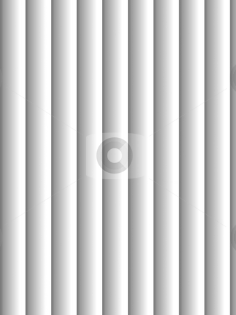 Blinds stock photo, Gray vertical blinds as backdrop or background with sunlight by Henrik Lehnerer