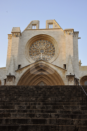 Tarragona Cathedral.  stock photo, Tarragona Cathedral. Catalonia, Spain. by Liana Bukhtyyarova