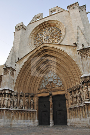 Tarragona Cathedral.  stock photo, Tarragona Cathedral. Catalonia, Spain. One of most famous places of province. by Liana Bukhtyyarova