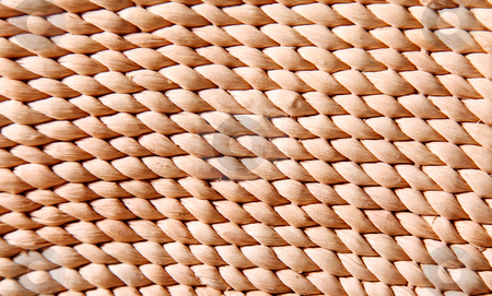 Background stock photo, A woven surface, empty to insert text or design by Giuseppe Ramos