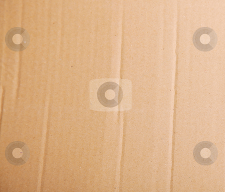 Carton stock photo, Brown carton background. Empty to insert text or design by Giuseppe Ramos