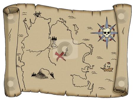 Similar Images Pirate Treasure Map
