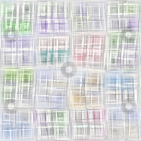 Scratch pencil background stock photo, Seamless abstract texture of pencil sketch lines in squares by Wino Evertz