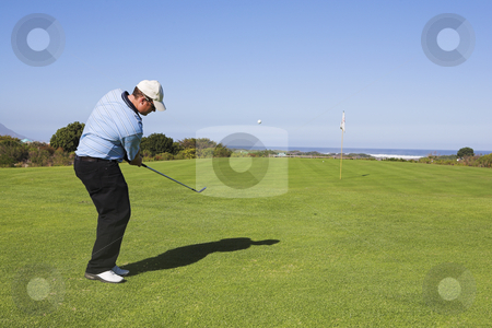 Golf #25 stock photo, Man playing golf by Sean Nel