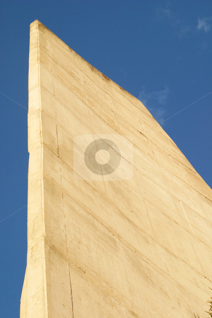 Cement tower stock photo, Wallclimbing tower at sports centre by Sean Nel