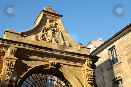 Natural History Museum in Aix-en-provence  stock photo, Gate of the Natural History Museum in Aix-en-provence by Sean Nel