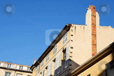 Buildings in Aix-en-provence stock photo, Buildings in Aix-en-provence, France. by Sean Nel