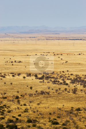Travel #4 stock photo, Landscape of a dry area in South Africa by Sean Nel