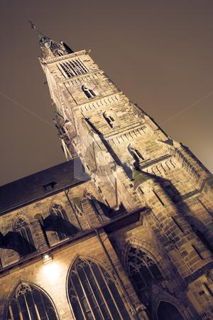 Munich #50 stock photo, Building at nighttime in Neurenburg - Munich by Sean Nel