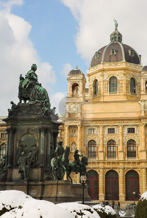 Vienna #6 stock photo, The Museum of Fine Arts in Vienna, Austria by Sean Nel