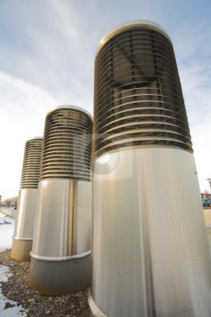 Munich #83 stock photo, Aircon cylinder in Riem by Sean Nel