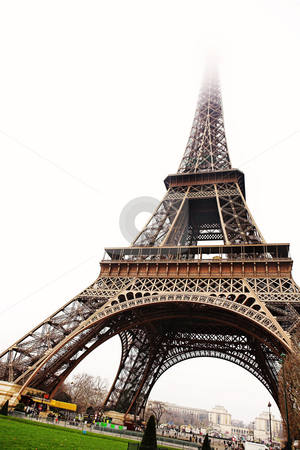 Paris #19 stock photo, The Eiffel Tower in Paris, France. by Sean Nel