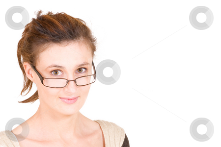 Business Lady #94 stock photo, Business woman with glasses by Sean Nel