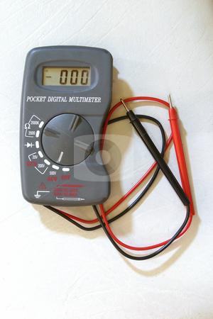 Multimeter stock photo, Digital multimeter by Sean Nel