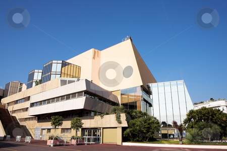 Modern building in Cannes stock photo, Modern building in Cannes, France on a sunny day by Sean Nel