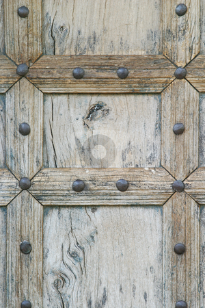 Moroccan Door stock photo, Weathered moroccan door by Sean Nel