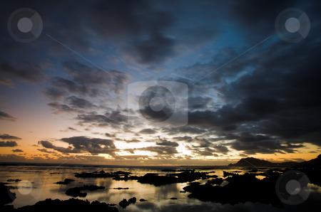 Sea Landscape #5 stock photo, Rocky Beach, Betty by Sean Nel