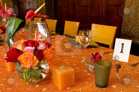 Wang Thai #5 stock photo, Table setting by Sean Nel