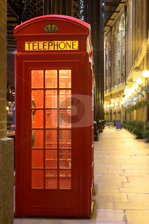 London#33 stock photo, Telephone booth in London. by Sean Nel