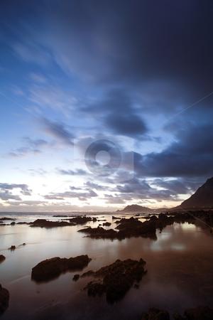 Sea Landscape #3 stock photo, Rocky Beach, Betty by Sean Nel