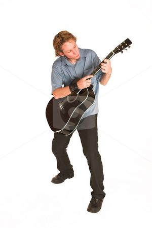 David Badenhorst #14 stock photo, Young man with guitar. by Sean Nel