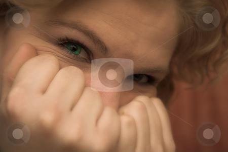 Hiding #01 stock photo, Hiding away - shallow DOF by Sean Nel