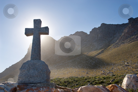 Graves #3 stock photo, Grave next to the sea - Gordons bay, South Africa by Sean Nel