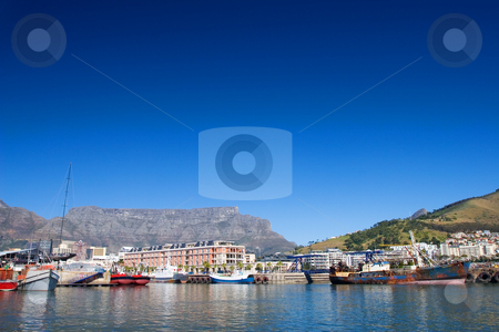 Harbour #22 stock photo, Boats at Cape Town Harbour, South Africa by Sean Nel