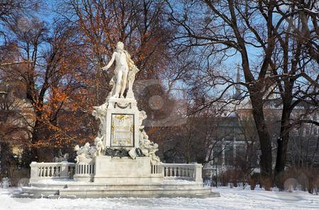Vienna #3 stock photo, Mozart Memorial in Vienna, Austria by Sean Nel