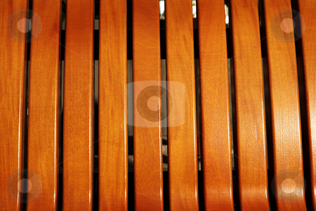 Wooden bench texture stock photo, Light brown color wooden bench texture with copy space by Sean Nel