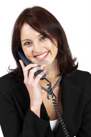 Business Lady #50 stock photo, Business woman on the telephone by Sean Nel