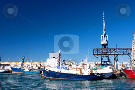 Harbour #21 stock photo, Boats at Cape Town Harbour, South Africa by Sean Nel