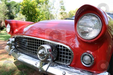 Classic car close up stock photo, Classic car close up by Sean Nel