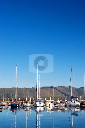 Harbour #10 stock photo, Boats at Knysna Harbour, South Africa by Sean Nel