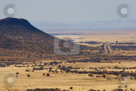 Travel #8 stock photo, Landscape of a dry area in South Africa by Sean Nel