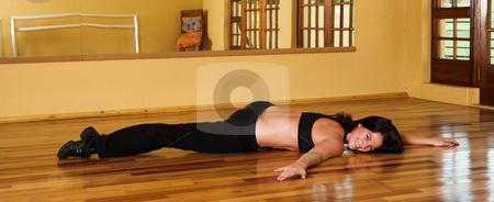 Dancer #22 stock photo, A Female Dancer practicing in her studio by Sean Nel
