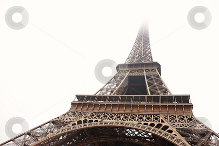Paris #16 stock photo, The Eiffel Tower in Paris, France. Copy space. by Sean Nel