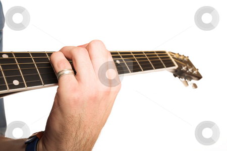David Badenhorst #3 stock photo, Young man with guitar. by Sean Nel