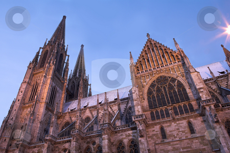 Regensburg#33 stock photo, Cathedral in Regensburg, Germany by Sean Nel