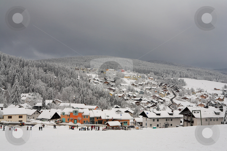 Snow Landscape #8 stock photo, Ski Resort in Kirchberg by Sean Nel