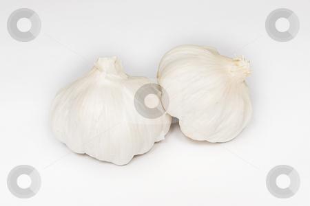 Garlic #3 stock photo, Whole Garlic Cloves by Sean Nel