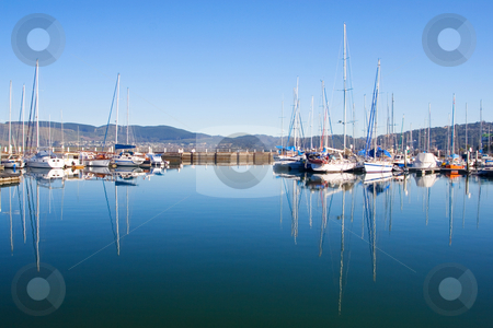 Harbour #11 stock photo, Boats at Knysna Harbour, South Africa by Sean Nel