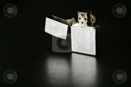 Unlit lighter stock photo, Open lighter by Sean Nel