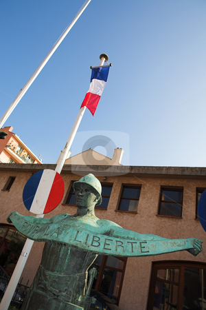 StRaphael #27 stock photo, The Statues in Freedom Square, St Raphael, France by Sean Nel
