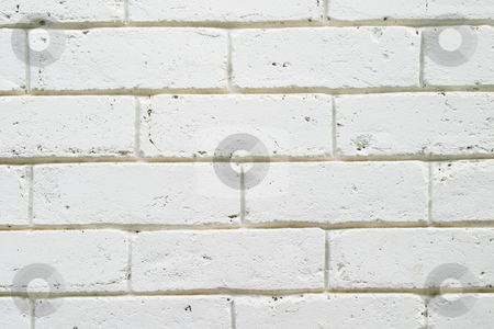 White wall stock photo, White painted wall by Sean Nel