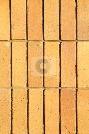 Bricks stock photo, Yellow bricks by Sean Nel